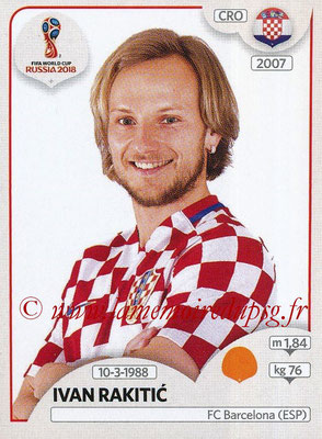 2018 - Panini FIFA World Cup Russia Stickers - N° 321 - Ivan RAKITIC (Croatie)