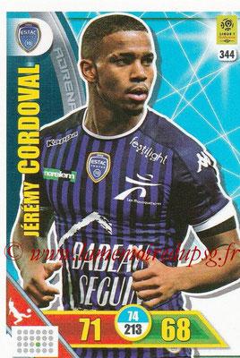 2017-18 - Panini Adrenalyn XL Ligue 1 - N° 344 - Jérémy CORDOVAL (Troyes)