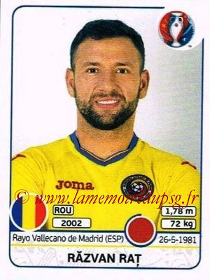 Panini Euro 2016 Stickers - N° 051 - Razvan RAT (Roumanie)