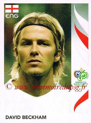 2006 - Panini FIFA World Cup Germany Stickers - N° 103 - David BECKHAM (Angleterre)