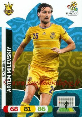 Panini Euro 2012 Cards Adrenalyn XL - N° 225 - Artem MILEVSKIY (Ukraine)