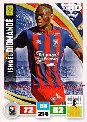 2016-17 - Panini Adrenalyn XL Ligue 1 - N° 071 - Ismaël DIOMANDE (Caen)
