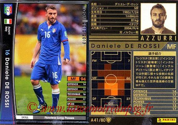 2012-13 - WCCF - N° A41 - Daniele DE ROSSI (Italie)