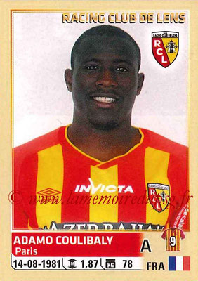 2014-15 - Panini Ligue 1 Stickers - N° 140 - Adamo COULIBALY (RC Lens)