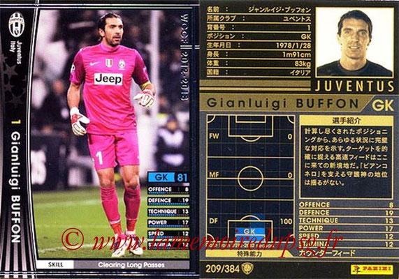 2012-13 - WCCF - N° 209 - Gianluigi BUFFON (Juventus FC)