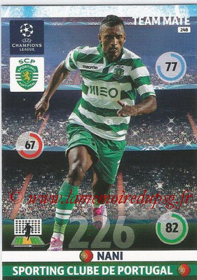 2014-15 - Adrenalyn XL champions League N° 248 - NANI (Sporting Club de Portugal)