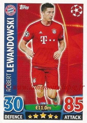 2015-16 - Topps UEFA Champions League Match Attax - N° 178 - Robert LEWANDOWSKI (FC Bayern Munich)