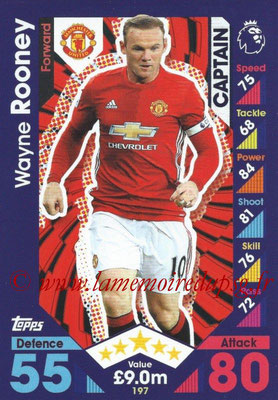 2016-17 - Topps Match Attax Premier League - N° 197