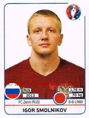 Panini Euro 2016 Stickers - N° 167 - Igor SMOLNIKOV (Russie)