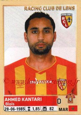 N° 131 - Ahmed KANTARI (2002-06, PSG B (CFA) > 2014-15, Lens)