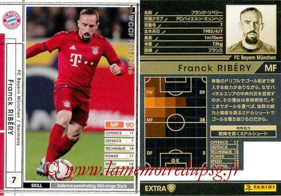 2015-16 - Panini WCCF - N° EXTRA15b - Franck RIBERY (FC Bayern Munich) (Extra)