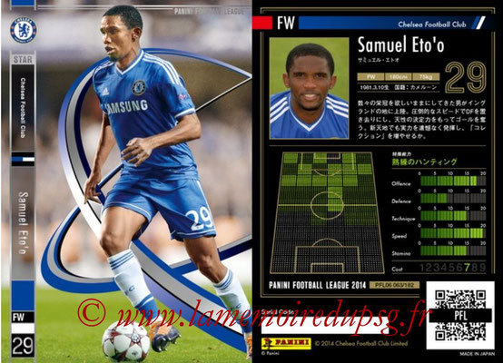 Panini Football League 2014 - PFL06 - N° 063 - Samuel ETO'O (Chelsea FC) (Star)