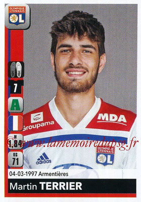 2018-19 - Panini Ligue 1 Stickers - N° 195 - Marin TERRIER (Lyon)