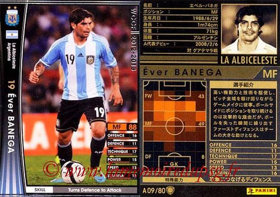 2012-13 - WCCF - N° A09 - Ever BANEGA (Argentine)