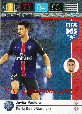 2015-16 - Panini Adrenalyn XL FIFA 365 - N° 216 - Javier PASTORE (Paris Saint-Germain) (One to Watch)