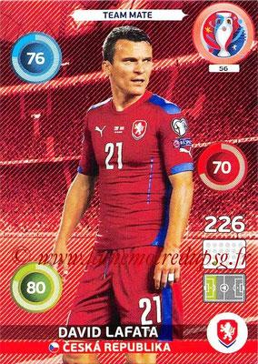 Panini Euro 2016 Cards - N° 056 - David LAFATA (République Tchèque)
