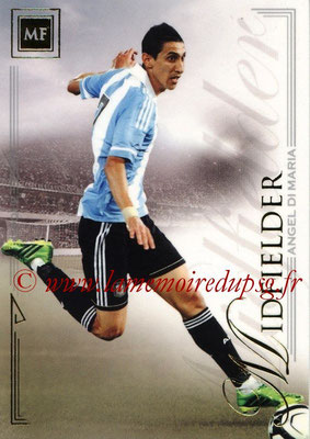 2014 - Futera World Football Unique - N° 036 - Angel DI MARIA (Midfielder)