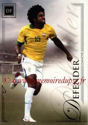 2014 - Futera World Football Unique - N° 015 - DANTE (Defender)