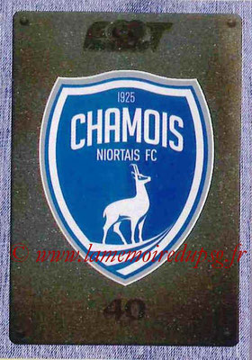 2015-16 - Panini Ligue 1 Stickers - N° 509 - Ecusson Chamois Niortais