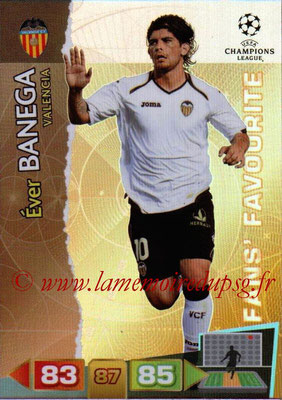 2011-12 - Panini Champions League Cards - N° 323 - Ever BANEGA (FC Valence) (Fans' Favourite)