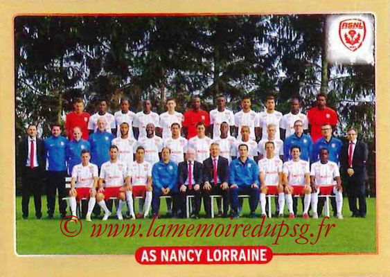 2015-16 - Panini Ligue 1 Stickers - N° 506 - Equipe AS Nancy Lorraine