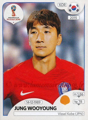 2018 - Panini FIFA World Cup Russia Stickers - N° 506 - Jung WOOYOUNG (Corée du Sud)