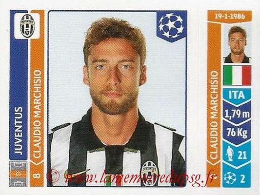 2014-15 - Panini Champions League N° 063 - Claudio MARCHISIO (Juventus Turin)