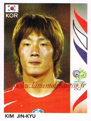 2006 - Panini FIFA World Cup Germany Stickers - N° 498 - Kim JIN-KYU (Corée du Sud)