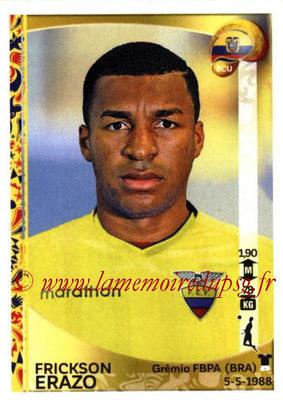 Panini Copa America Centenario USA 2016 Stickers - N° 140 - Frickson ERAZO (Equateur)