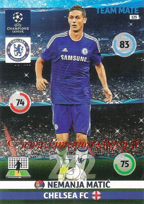 2014-15 - Adrenalyn XL champions League N° 123 - Nemanja MATIC (Chelsea FC)