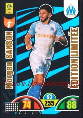 2018-19 - Panini Adrenalyn XL Ligue 1 - N° LE-MS - Morgan SANSON (Marseille) (Edition Limitée)
