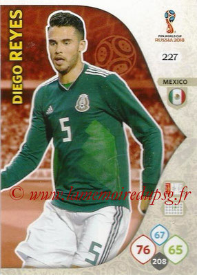 2018 - Panini FIFA World Cup Russia Adrenalyn XL - N° 227 - Diego REYES (Mexique)