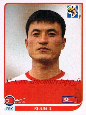 2010 - Panini FIFA World Cup South Africa Stickers - N° 508 - Ri JUN-IL (Corée du Nord)