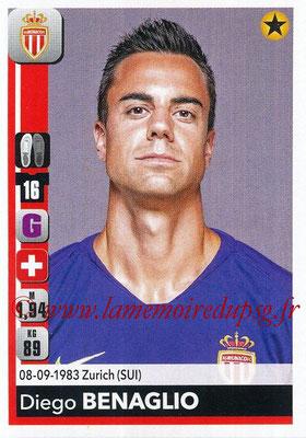 2018-19 - Panini Ligue 1 Stickers - N° 227 - Diego BENAGLIO (Monaco)