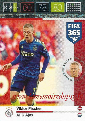 2015-16 - Panini Adrenalyn XL FIFA 365 - N° 156 - Viktor FISCHER (AFC Ajax) (One to Watch)