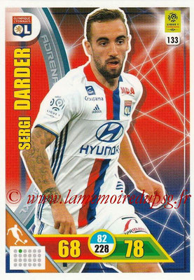 2017-18 - Panini Adrenalyn XL Ligue 1 - N° 133 - Sergi DARDER (Lyon)