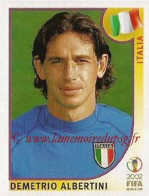 2002 - Panini FIFA World Cup Stickers - N° 468 - Demetrio ALBERTINI (Italie)