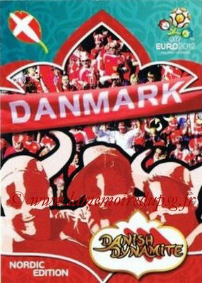 Panini Euro 2012 Cards Adrenalyn XL - N° 314 - Danish Dynamite (Nordic Edition)