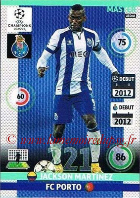 2014-15 - Adrenalyn XL champions League Update edition N° UE068 - Jackson MARTINEZ (FC Porto) (Master)