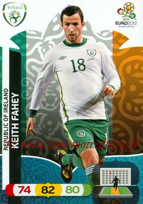 Panini Euro 2012 Cards Adrenalyn XL - N° 184 - Keith FAHEY (Eire)
