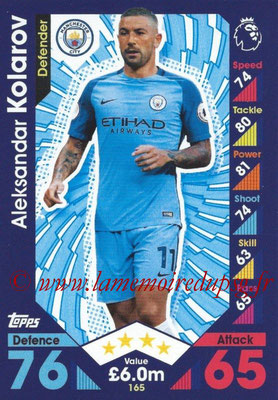 2016-17 - Topps Match Attax Premier League - N° 165