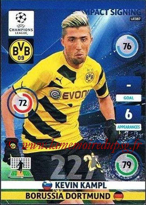 2014-15 - Adrenalyn XL champions League Update edition N° UE087 - Kevin KAMPL (Borussia DORTMUND) (Impact Signing)