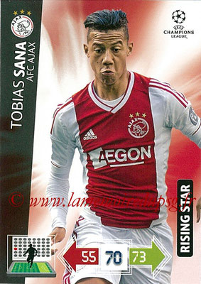 2012-13 - Adrenalyn XL champions League N° 009 - Tobias SANA (AFC Ajax) (Rising Star)