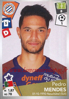 2017-18 - Panini Ligue 1 Stickers - N° 291 - Pedro MENDES (Montpellier)