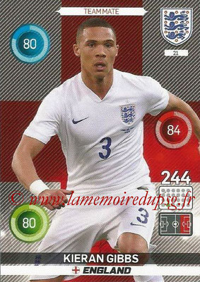 Panini England 2016 Adrenalyn XL - N° 021