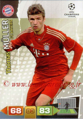 2011-12 - Panini Champions League Cards - N° 067 - Thomas MÜLLER (FC Bayern Munich)