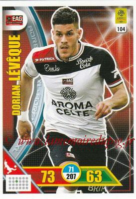 2017-18 - Panini Adrenalyn XL Ligue 1 - N° 104 - Dorian LEVEQUE (Guingamp)