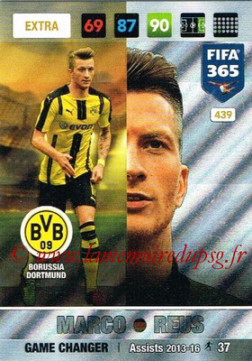 2016-17 - Panini Adrenalyn XL FIFA 365 - N° 439 - Marco REUS (Borussia Dortmund) (Game Changer) (Nordic Edition)