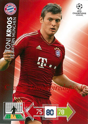 2012-13 - Adrenalyn XL champions League N° 050 - Toni KROOS (FC Bayern Munich)