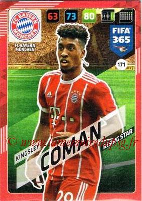 2017-18 - Panini FIFA 365 Cards - N° 171 - Kingsley COMAN (FC Bayern Munich)